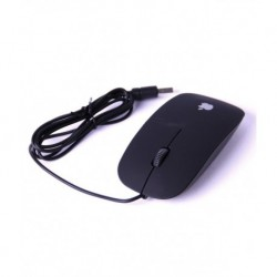 Iconnect World Slim 3d Optical Usb Mouse For Laptop And Desktop - Black