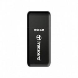 Transcend Multi Card Reader RDP5 - USB2.0 Black
