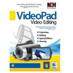 NCH VideoPad Video Editor Masters Edition Software CD