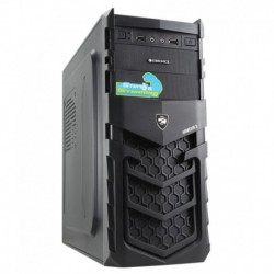 Zebronics Armour 2 Cabinet Without SMPS - Black
