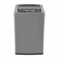 LG 6.5 Kg T7567TEELH Fully Automatic Top Load Washing Machine Middle Free Silver