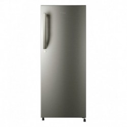 Haier 195 LTR HRD-2157BS-R Direct Cool Refrigerator - Brushed Silver