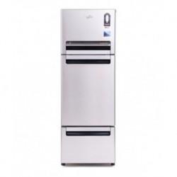 Whirlpool 240 LTR FP 263D Royal PROTTON Triple Door Refrigerator - Alpha Steel
