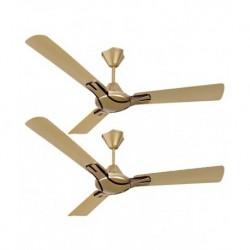 Havells 1200 mm Nicola Ceiling Fan Bronze Copper (Pack of 2)