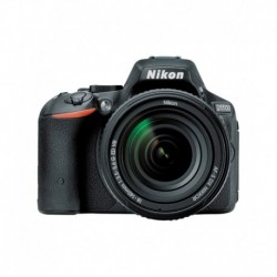 Nikon D5500 with AF-S 18-140 mm Digital-SLR - Black