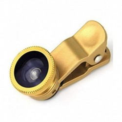 Mobilegear Universal 3 in 1 Mobile Camera Lens With Macro, Fisheye & Wide Angle for Smartphone Photography