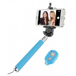 Xtra Click Ace Bluetooth Selfie Stick - Blue