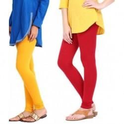 Tjaggies Multicolor Stylish  Leggings - Set of 2