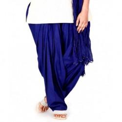 Pistaa Royal Blue Patiala Salwar With Dupatta
