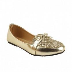Royal Indian Exposures Gold Ballerinas