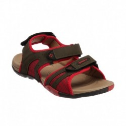 Sparx Green and Red Floater Sandals