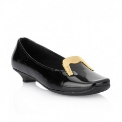 Catwalk Black Kitten Heeled Formals