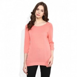 United Colors of Benetton PeachPuff Solid Top