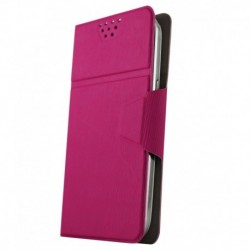 Molife Universal   Flip Cover For Vivo Y15 - Pink
