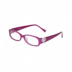 Hawai Purple Frame Non Metal Rectangle Women Reading Eyeglasses