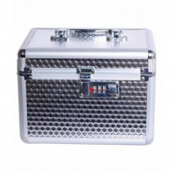 Pride Silver Cosmetic Vanity Box