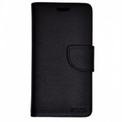 Ncase Synthetic Wallet Case For Lenovo K3 Note Black