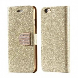 Excelsior Wallet Cover For Apple iPhone 6 - Golden