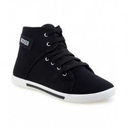 Super Matteress Black Sneaker Shoes