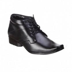 Kraasa Black Formal Shoes