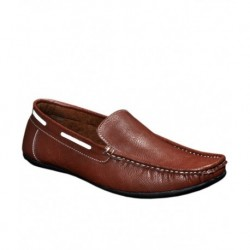 T.L.M. Stanza Brown Loafers