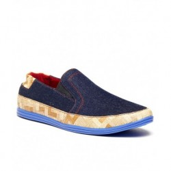 Zapatoz Blue Loafers