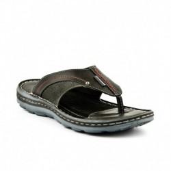 Lee Cooper Black Slippers