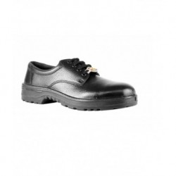 Liberty Black Leather Safety Shoes
