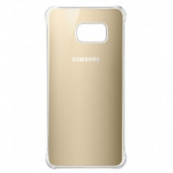 Samsung Back Cover For Samsung Galaxy S6 Edge + (golden)