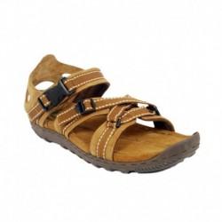 Woodland Camel Leather Sandals
