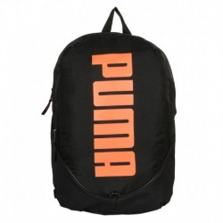 Puma Pioneer Black and Orange Unisex Backpack