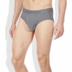 Calvin Klein Underwear Gray Cotton Blend Hip Brief