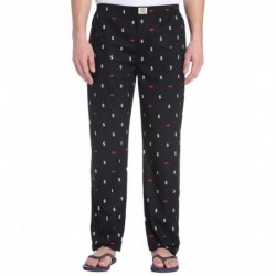 Jack & Jones Black & White Printed Pyjamas