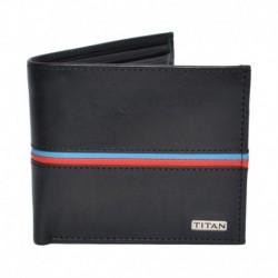Titan Black Leather Formal Wallet