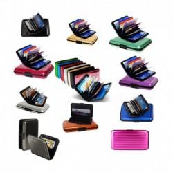 Ishita Multi Color Aluminium Security Card Holder 6pcs Combo Pack