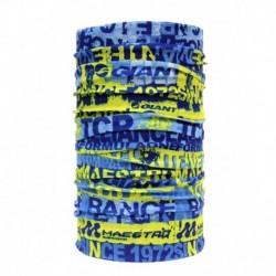 Noise Blue Polyester Bandana