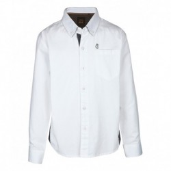 Gini & Jony White Full Sleeves Shirt