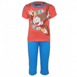 SDL By Sweet Dreams Red & Blue Clothing Set