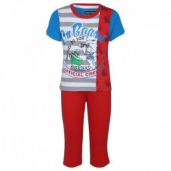 SDL By Sweet Dreams Blue & Red Clothing Set