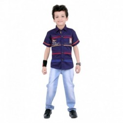 Jazzup Cotton Blend Shirt and Jeans