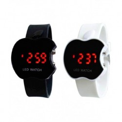 Gentax Black Rubber Automatic Watch Pack Of 2