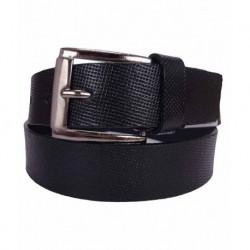 Revo Black Leather Belt