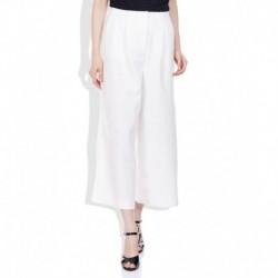 Vero Moda White Regular Fit Culottes