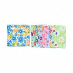 Amaze Fab Multicolour Nepkin - Pack of 12