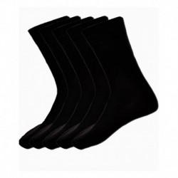 Alfa Fun Black School Socks - Pack of 5